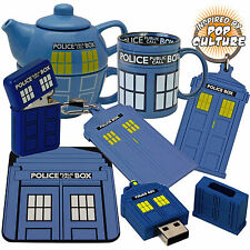 Police Box Gift Range - Mug, Key-Ring, Luggage Tag, USB Drive, Wallet, Lighter