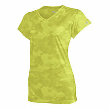 Champion Womens Essential Double Dry V-Neck Tee NWT CW23
