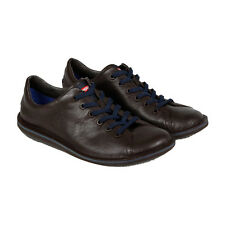 Camper Beetle Mens Brown Leather Lace Up Sneakers Shoes