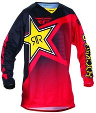 Fly Racing Kinetic Mesh Rockstar Racewear Racewear Mens Road Motocross Jersey