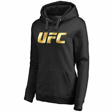 UFC Gold Pullover Hoodie - Black - MMA