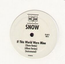 """If This World Were Mine by Snow new Mo Jam 12"""" Hip Hop"""