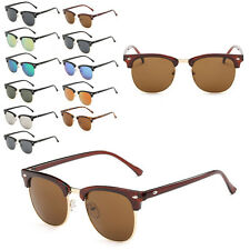Mens PC Frame Sunglasses Unisex UV400 Protection Eyewear Womens Travel Glasses