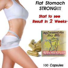 STRONG Belly Fat Burn Weight Loss Pills 100% Natural Herb Stomach Diet Slimming