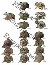 HUNTING CAMO - LICENSED ADJUSTABLE Back Camo Cap, Kati Camouflage, Baseball Hat