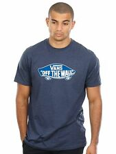 Vans Navy Heather-Imperial Blue Off The Wall T-Shirt
