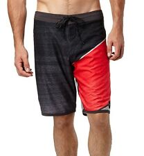 NEW ONEILL board shorts swim HYPERFREAK red gray black 32 or 36