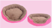 Puppy Bed Soft Fleece Pet Dog Cat Warm House Plush Cozy Nest Mat Pad