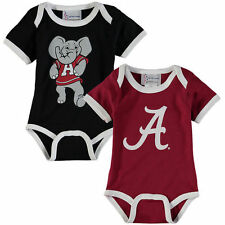 Alabama Crimson Tide Newborn & Infant 2-Pack Bodysuit Set - NCAA
