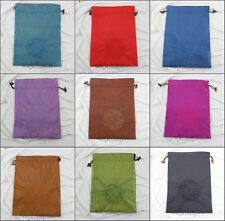 Wholesale New fashion Shoes Covers mix Free Silk Embroidered Drawstring shoe bag
