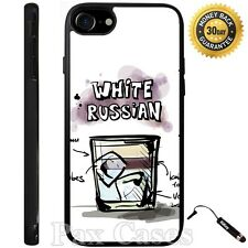 Custom Case for iPhone 6S 7 Plus+Samsung Galaxy S6 S7+STYLUS-White Russian