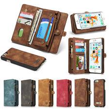 Genuine Leather Case For Apple iPhone 7 / Plus Cover Wallet Flip Phone Bag Cases