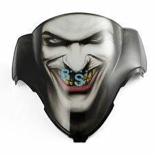 Airbrushed Joker Jester Windscreen Windshield For Honda CBR Fairing motorcycle