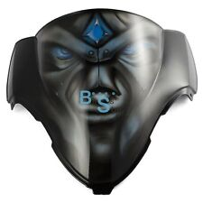 Airbrushed Blue Eyes Custom Windscreen Windshield For Suzuki Fairing motorcycle