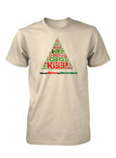 AproJes #Keep Christ in Christmas Hashtag Jesus Christian T-Shirt for Men