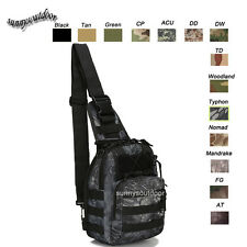 Camo Assault Combat Pack Military Camouflage Veripack Tactical Molle Sling Bag