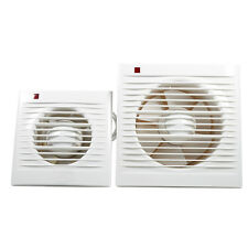 """220V 4"""" 6"""" 12W/20W Ventilating Exhaust Wall Extractor Fan For Toilet Bathroom WY"""