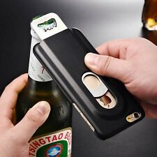 Multifunction Aluminum Metal Beer Bottle Opener Back Case Cover For iPhone  C