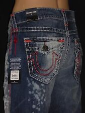 $399 Ricky Super T Indigo True Religion Men Jeans 31 32 33 Mega M859NWY1