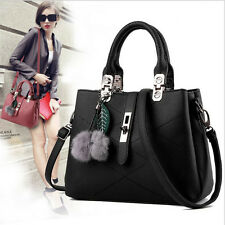 New Women 10 colors Handbag Shoulder Bags Tote Purse PU Leather Lady Hobo Bag