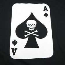 NEW ACE OF SPADES DEATH CARD POKER ROCKABILLY PUNK ROCK HEAVY METAL TEE T SHIRT