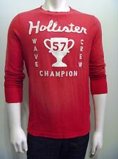 HOLLISTER by Abercrombie Men Westward Beach Long Sleeves Graphic T Shirt NwT XL