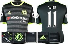 *16 / 17 - ADIDAS ; CHELSEA 3rd KIT SHIRT SS + PATCHES / WISE 11 = KIDS SIZE*