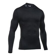 Under Armour ColdGear Mens Armour Compression MOCK Long Sleeve Top - AW16 Twist