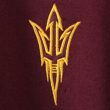 Arizona State Sun Devils Stadium Athletic Logo Quarter-Zip Sweatshirt - NCAA