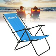 Backpack Beach Chair Folding Portable Chair Solid Construction Camping Bench New