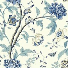 """York Wallcoverings Carey Lind Vibe 27' x 27"""" Floral Teahouse Wallpaper Roll"""