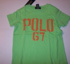 NEW POLO RALPH LAUREN lime green baby toddler boys 3 3T short sleeve t shirt