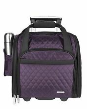 Travelon Wheeled Underseat Carry-On with Back-Up Bag (Large main compartment)TSX