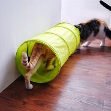 Ball Foldable Camouflage Crackle Chute Cute Pet Cat Dog Tunnel 4 Color Polyester