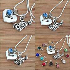 Personalised Happy Birthday gift necklace for mum sister daughter cousin nan