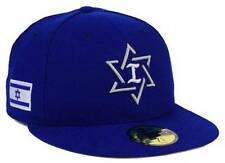 Official 2017 WBC Israel World Baseball Classic New Era 59FIFTY Fitted Hat