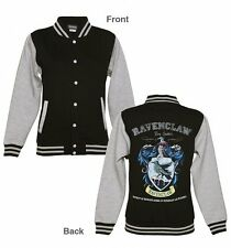 Official Women's Black Harry Potter Ravenclaw Team Quidditch Varsity Jacket