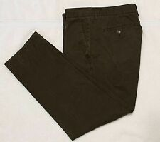 Banana Republic Relaxed Fit Chinos, chocolate brown, 34x30
