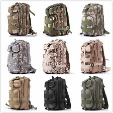 3P Military Molle Camping Backpack Tactical Camping Hiking Travel Bag Outdoor