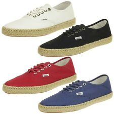 VANS Authentic ESP Ladies Shoes Surf Siders Do shoes espadrilles