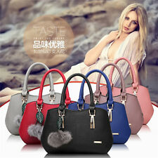 Fashion Women Satchel Cross body Shoulder Bag PU Leather Tote Handbag Purse Bags