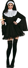 Naughty Nun Costume NEW - Ladies Carnival Fancy Dress