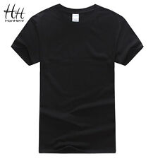 Cotton Men T-shirts 2016 Short Sleeve O-neck Solid Color Loose Basic Tshirt
