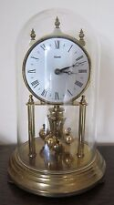 VINTAGE KUNDO 400 DAY ANNIVERSARY CLOCK WITH DOME - good working order