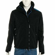 Superdry Technical Pop Zip Windcheater Jacket Black(Blue )(Small / Large ) Mens