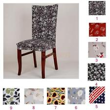 Elastic Dining Room Wedding Banquet Decor Chair Cover Washable Slipcover -PICK