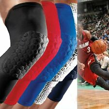 Knee Long Sleeve Leg Pad strong Honeycomb Crashproof BasketBall Protective Gear