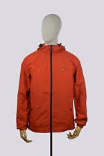 Lyle & Scott Zip Through Hooded Jacket // Flame Red // RRP £85.00