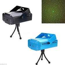 Mini Projector DJ Disco Light Stage R&G Party Laser Lighting Show Voice N5P5
