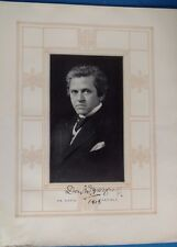 Authentic David Warfield autograph Actor stage theater play Broadway signed 1913